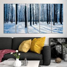 large wall art canvas print snowy forest in winter mygreatcanvas com extra large wall art wall art print large world map canvas print gallery