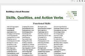 Verb List For Resumes Cradle Call To Action Reaction Action Words List Action