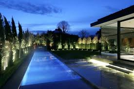 beautiful outdoor lighting. Led Garden Lights Uk Design Outdoor Lighting Green Beautiful Backyard