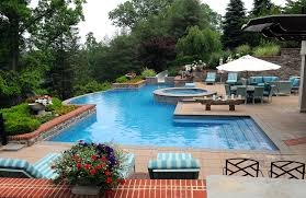 custom inground swimming pool builders contractors in bucks pools companies inground swimming pools with spa