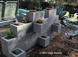 how to build a cinder block garden wall make a wall planter build concrete block stucco