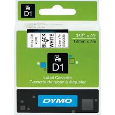 <b>Картридж</b> для принтера этикеток <b>DYMO</b> S0720530 <b>D1</b> (12 мм x 7 ...