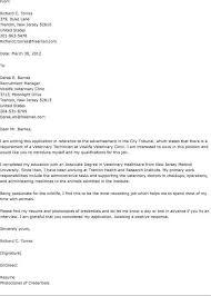 Cover Letter Template Veterinary Technician Zonazoom Com