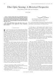 Fiber Optic Connectors Chart Pdf Pdf Fiber Optic Sensing A Historical Perspective
