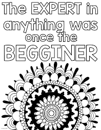 Growth Mindset Coloring Pages Wurzen