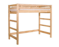 solid wood twin loft bed