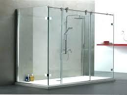 small glass shower doors glass shower doors which are sliding doors useful glass shower doors which