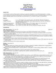 Senior Software Engineer Resume - T-File inside Senior Software Engineer  Resume