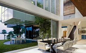 modern mansion dining room. Complexity Geometry Architecture In A Huge Modern House - Dining Room Mansion E