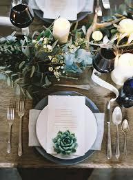 20 Impressive Wedding Table Setting Ideas Modwedding
