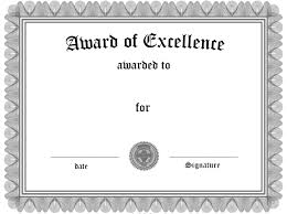 Certificate Of Excellence Template Free Award Certificate Template Free Download Word Best Of Certificate 6