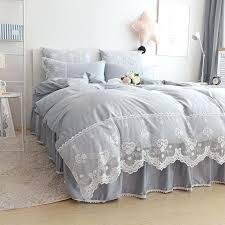 grey single bedding pink grey blue purple beige single double bedding set full queen king home silver grey single bedding