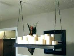 impressive real wax candle chandeliers chandelier