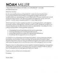 Accountant Assistant Cover Letter Sample Ideal Vistalist For Cover