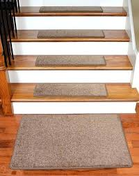 carpet pads for stairs dean x 9 imperial carpet stair treads with landing mat color cafe