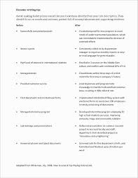 What To Say On A Resume Best Of Writing A Resume For A Job Pdf