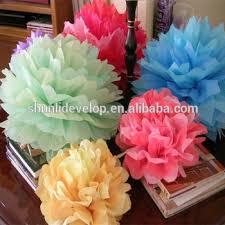 Make Tissue Paper Flower Balls Diy Wedding Favors Gifts Tissue Paper Flower Balls Buy Wedding