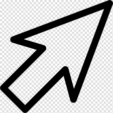 White Arrow Sign Illustration Computer Mouse Pointer Scalable