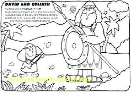David And Goliath Coloring Page Coloring Pages And Page Free Of Vs