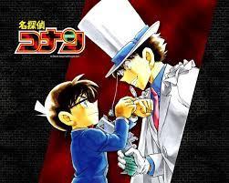 Conan Edogawa vs. Kaito Kid on We Heart It