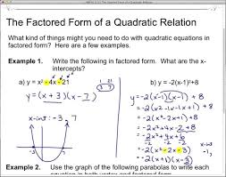 large size of standard to factored form jetxs definition math quadratic equ of a polynomial example