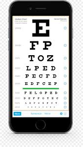 Eye Exam Snellen Chart Medicine Cartoon