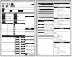 shadowrun 5 character sheet tg traditional games thread 39113151