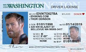 License Washington Ids Idviking wa Id Fake - New Drivers Scannable Best