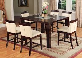 beautiful  piece counter height dining room sets ideas  room