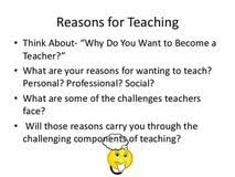 why become a teacher essay sonny s blues thesis statement nea why i want to be an educator why become a teacher essay