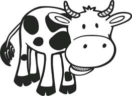 Small Picture Cow Pictures To Print Coloring Coloring Pages