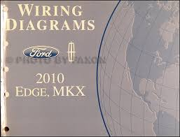 ford edge service manuals shop owner maintenance and repair 2010 ford edge lincoln mkx wiring diagram manual original