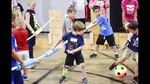 the church of garden valley kicks off its mega sport camp a free event for kids
