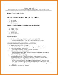 9+ national honors society resume