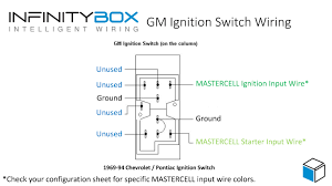 gm ignition switch wiring diagram for gm ignition switch used in chevrolet and pontiac cars from 1969 through 1994