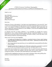 Executive Cover Letters Samples Executive Cover Letter Examples Sample Business Management Cover