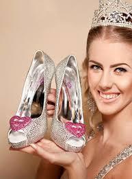 <b>Crystal Pink Hearts</b> Diamond Peeptoe Heels – Crystals By Nicole X ...