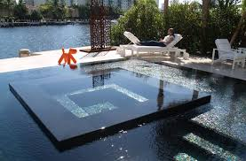Modern Pool Designs With Spa Best And Design Ideas Home Decorating Impressive