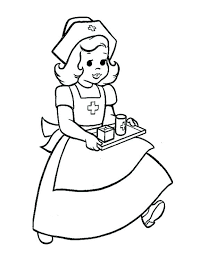Coloring Pages Male Nurse Coloring Pages Page Great Gallery Male