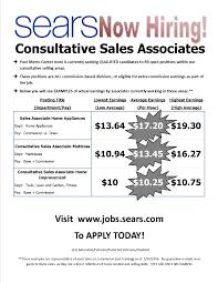 metrocenter mall jobs metrocenter mall phoenix az sears now hiring consultative s associates