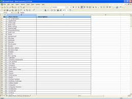 House Inventory List Template home inventory excel Besikeighty24co 1