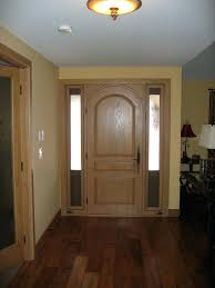 single entry doors with glass. Single Door Gallery Global Entry Doors Custom Oak With Sidelights Front . Inspirations Glass