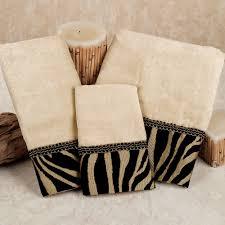 Decorative Bathroom Towels Sets Zuma Zebra Decorative Towel Set Towels Decorative Towels And