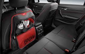 bmw genuine in car seat backrest pocket storage bag f20 f21 f30 f31 52122219889