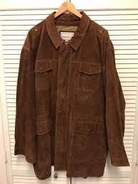 wilsons mens m julian leather jacket coat size 3xl brown che guevara new