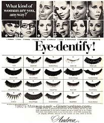 gallery makeup adverts of the 1960 s eye shadows