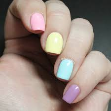 The Beauty Buffs - Pastel Nail Art Pictorial - tina_tech