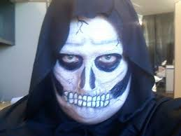 me as the grim reaper in 2010 makeup scary costumes