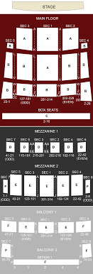 Detroit Opera House Detroit Mi Seating Chart Stage