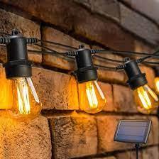 china led solar string lights garden